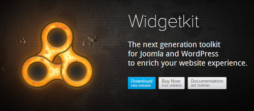 Widgetkit v.1.4.7 - Joomla 2.5 and 3.2 + BS