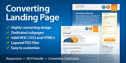 Converting Landing Page Full