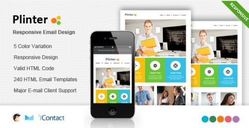 Plinter-Responsive E-mail Template