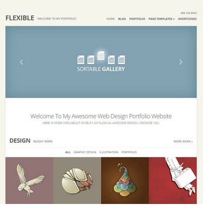 Flexible v2.0 Theme For WordPress