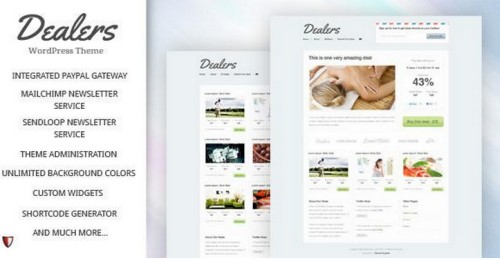 Dealers v2.0 - Daily Deals WordPress Theme