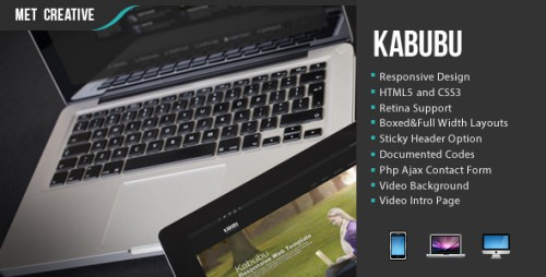 Kabubu Responsive Creative Business/Personal Theme