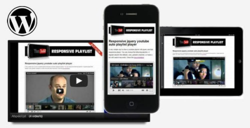 Query responsive youtube playlist v1.1.0 for Wordpress