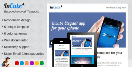 Incube Responsive HTML Email Template