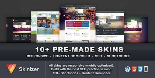 Skinizer v1.0.4 - Multipurpose WordPress Theme