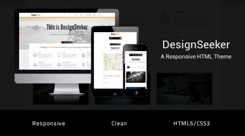 Mojothemes - DesignSeeker - Responsive HTML/CSS Template