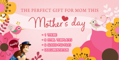 Mamalove Email Template
