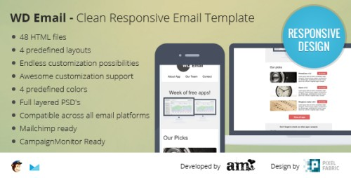 WD Email - Clearn Responsive Email Template