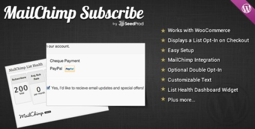 WooCommerce MailChimp Subscribe v1.0.3