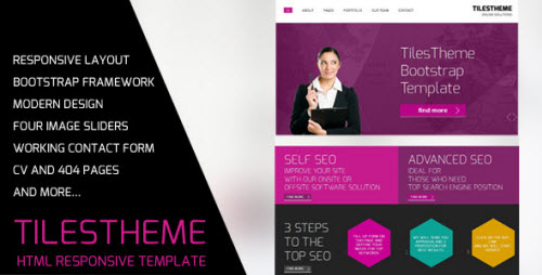 TilesTheme - Bootstrap Business Template
