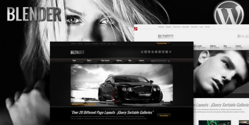 Blender v.1.1 - Wordpress Portfolio Theme