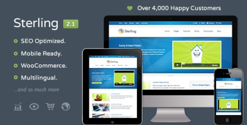 Sterling 2.1 - Responsive Wordpress Theme