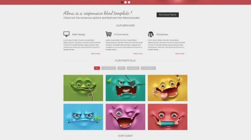 Alena - Reponsive Template HTML