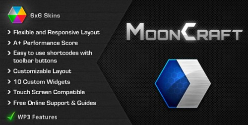 Mooncraft v1.1.3 - Premium Wordpress Theme