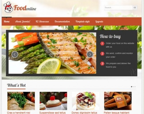 VT Food for Joomla 2.5 & 3.0
