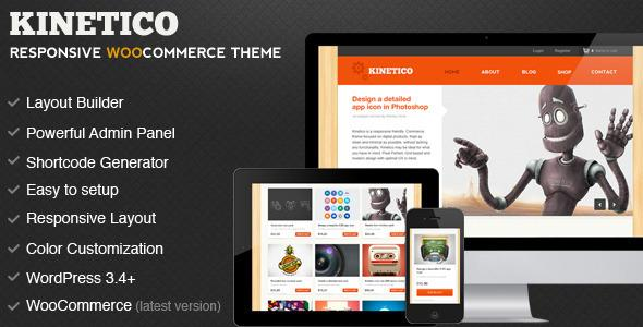 Kinetico - Responsive WordPress E-Commerce v4.0