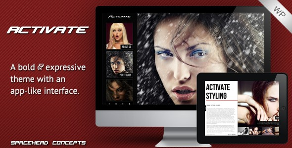 Activate - Creative and Responsive Wordpress Theme v1.1.2