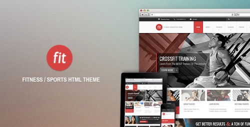 FIT - Fitness/Gym HTML Theme