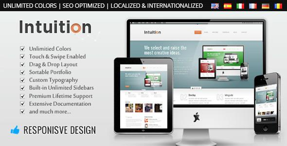 Intuition - Responsive Business WordPress Theme v1.0