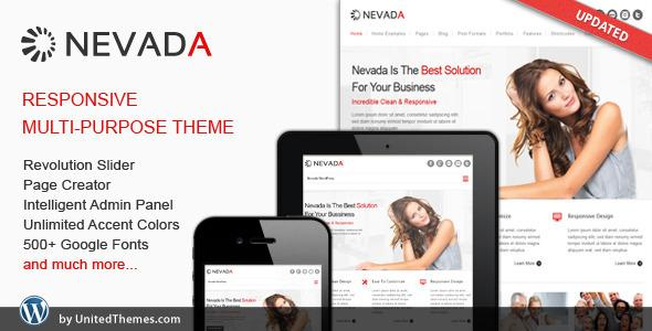 Nevada - Responsive Multi-Purpose Theme v1.3