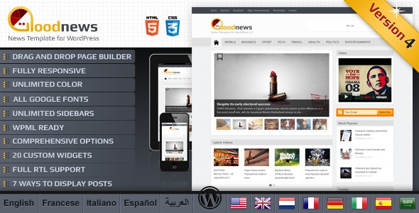 Goodnews - Premium WordPress News/Magazine v4.1.1