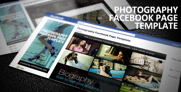 Photography Facebook Page Template