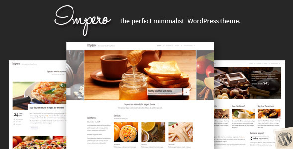 Impero: Minimalistic WordPress Theme v2.0