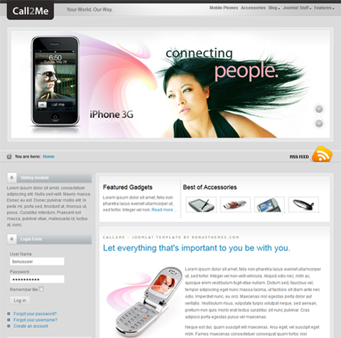 BT Call2me for Joomla 2.5