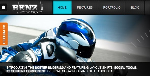 Benz Creative Template For Joomla! 2.5