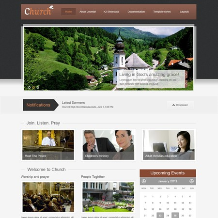 VT_Church Template For Joomla 2.5