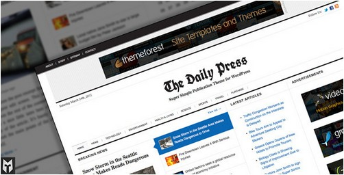 The Daily Press v2.1.0 - Super Simple WP Publication Theme