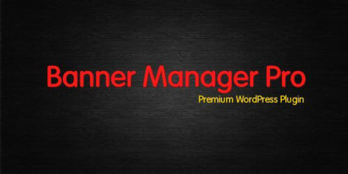 Codecanyon - WP Banner Manager Pro