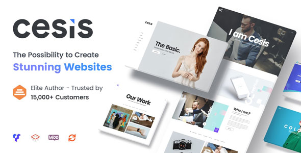 Cesis v1.1 - Ultimate Multi-Purpose PSD Template