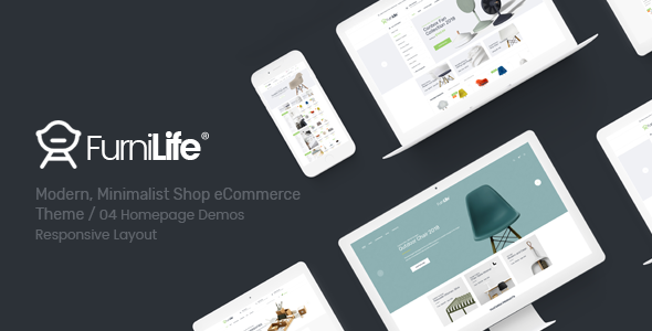 Furnilife - Furniture, Decorations & Supplies Magento Theme