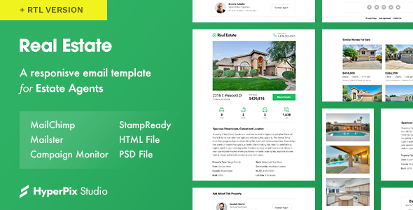 Real Estate v1.0 - Email Template