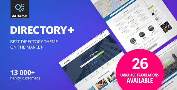 Directory v2.55 - WordPress Theme
