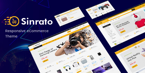 Sinrato v1.0 - Electronics Theme for WooCommerce