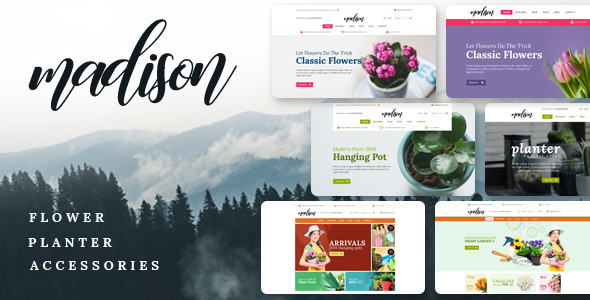 Madison - Multipurpose OpenCart Theme (Included Color Swatches)