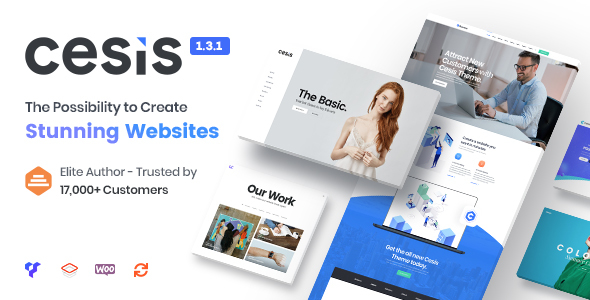 Cesis v1.3.1 - Responsive Multi-Purpose WordPress Theme